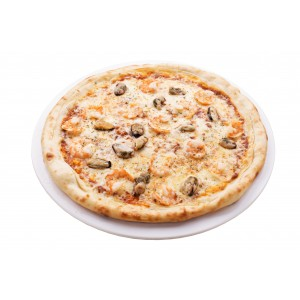 Морская пицца